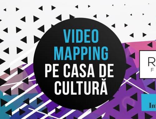 RestArt: Video Mapping pe Casa de Cultură
